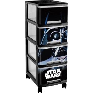 tour de rangement 4 tiroirs star wars. Black Bedroom Furniture Sets. Home Design Ideas