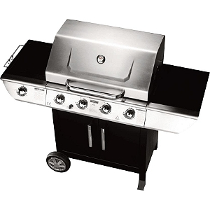 barbecue gaz 4 bruleurs leclerc