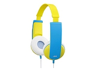 CASQUE AUDIO JVC HAKD5EY Kid bleu/jaune