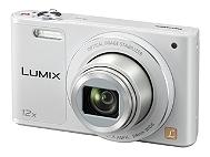 Compact Numérique PANASONIC Pack SZ10 Blanc + Housse + SD 8G