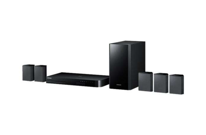 home cin ma 5 1 bluray 3d samsung ht j4500. Black Bedroom Furniture Sets. Home Design Ideas