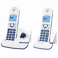 Téléphone Fixe ALCATEL F330-S PureSound Duo Bleu