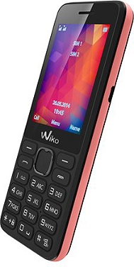 Téléphone portable WIKO RIFF 2 NOIR/ROSE