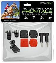 Accessoire Caméra Sport TEAMSPORT KIT FIXATIONS FRONTALES