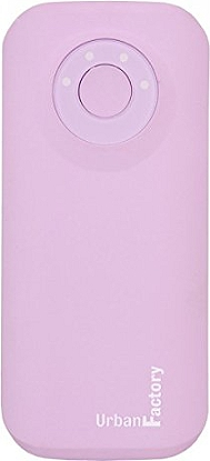 Batterie externe URBAN FACTORY 4400 mAh rose