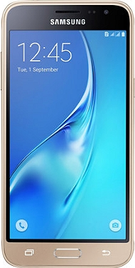 "Smartphone 5"" SAMSUNG Galaxy J3 2016 Or"