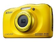 Compact Numérique NIKON Coolpix W100 Jaune +Sac