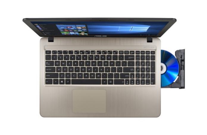 ordinateur portable 15 6 pouces asus f540lj xx743t. Black Bedroom Furniture Sets. Home Design Ideas