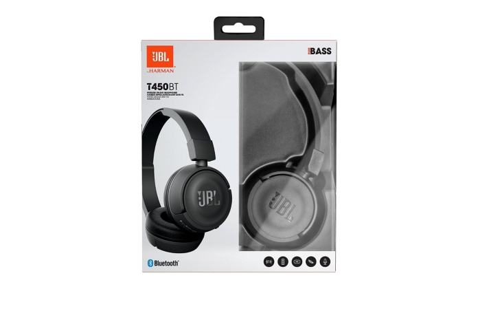 casque audio bluetooth jbl t450 bt noir. Black Bedroom Furniture Sets. Home Design Ideas