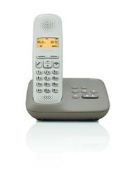 Téléphone résidentiel GIGASET A150A Taupe