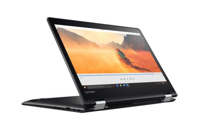 ordinateur portable 14 pouces lenovo yoga 510 14ast. Black Bedroom Furniture Sets. Home Design Ideas