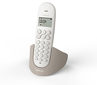 Téléphone résidentiel LOGICOM Luna 105T Taupe