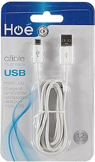 Câble de Synchronisation SELECTION EXPERT Hoé USB/micro USB
