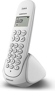 Téléphone résidentiel LOGICOM Aura 150 Blanc
