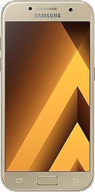 Smartphone + Casque Sport SAMSUNG Galaxy A3 2017 Or