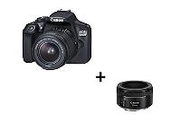 REFLEX NUMÉRIQUE CANON EOS 1300D + 18-55DC + 50mm STM