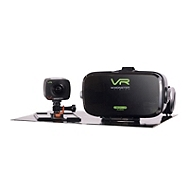 CAMÉRA SPORTIVE MONSTER Vision 360° VR + Casque VR Audio