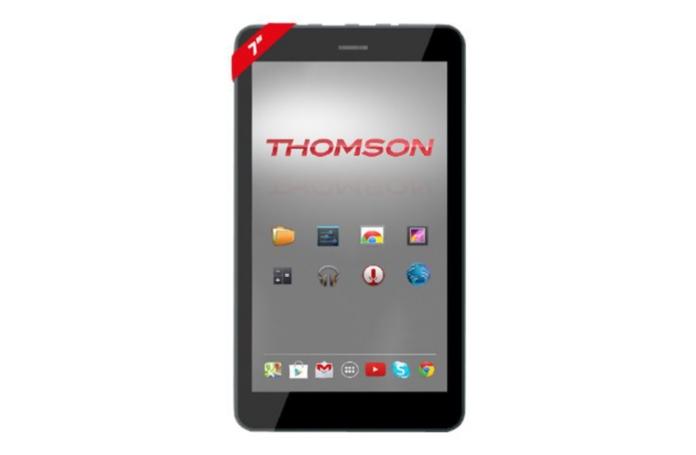 tablette tactile 10 1 pouces thomson teo 8 go. Black Bedroom Furniture Sets. Home Design Ideas