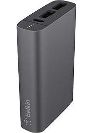 Batterie externe PowerBank BELKIN Mixit 6600 gris 6600 mAh