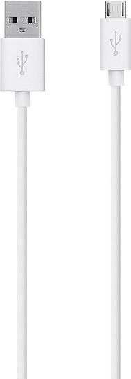 Câble micro-USB vers USB BELKIN Smartphone & tablette blanc