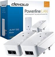 Kit de démarrage DEVOLO dLan 550 duo+ blanc