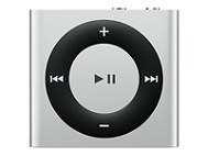 iPod APPLE Shuffle 2 Go Argent