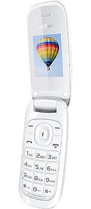 TELEPHONIE MOBILE ECHO Clap 2 blanc
