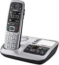 Téléphone fixe GIGASET E560A Solo gris