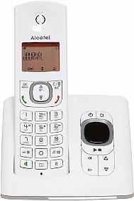 Téléphone fixe sans fil ALCATEL F530 solo rép gris