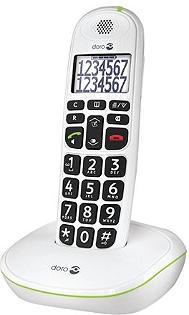 Téléphone résidentiel DORO Phoneeasy solo 110 blanc