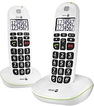 Téléphone résidentiel DORO Phoneeasy duo 110 duo blanc