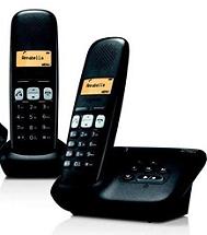 Telephone Residentiel GIGASET AL350A DUO NOIR