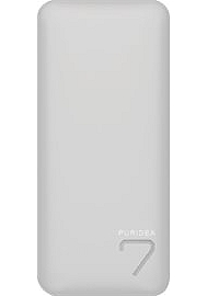 BATTERIE DE SECOURS 6600 MAH PURIDEA Powerbank 6600 mAh - Grey / Whit