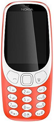 Téléphone mobile NOKIA 3310 rouge + Carte mémoire 8 Go