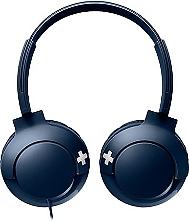 Casque audio PHILIPS Bass+ bleu