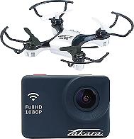 Caméra sportive TAKARA MULTIMÉDIA CS22PK + Mini Drône