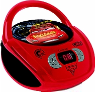 Lecteur radio CD LEXIBOOK Disney Cars
