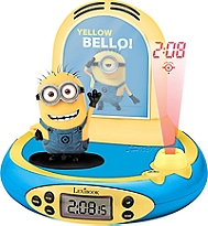 Radio réveil projecteur LEXIBOOK Minion