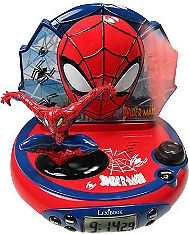 Radio réveil projecteur LEXIBOOK Disney Marvel Spiderman