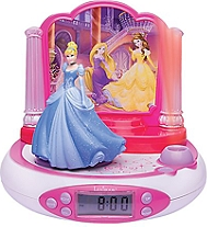 Radio réveil projecteur LEXIBOOK Disney Princesse