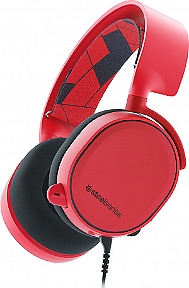 Casque gaming STEELSERIES Arctis 3 rouge