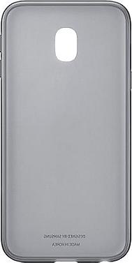 Coque semi-rigide SAMSUNG Galaxy J3 2017 noir translucide