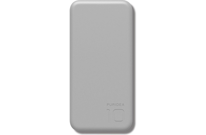 batterie externe powerbank puridea s2 grey 10 000 mah. Black Bedroom Furniture Sets. Home Design Ideas