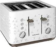 Grille Pain MORPHY RICHARDS M248102EE Prism blanc