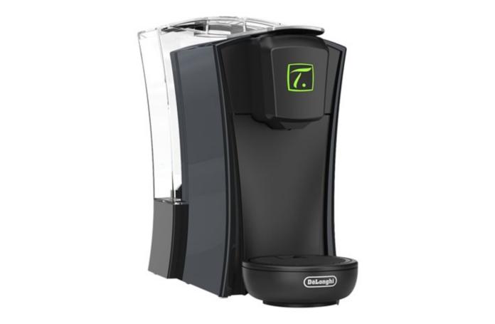 machine a the a capsules mini t delonghi tst400 b 1470 w noir. Black Bedroom Furniture Sets. Home Design Ideas
