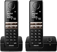 Téléphone sans fil PHILIPS D4652 DUO