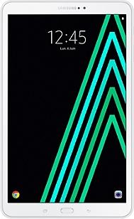 "Tablette 10,1"" (pouces) + Carte Micro SD + Etui SAMSUNG Galaxy Tab A6 10"" blanche"