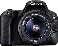 REFLEX NUMÉRIQUE CANON EOS 200D Noir + EF-S 18-55mm