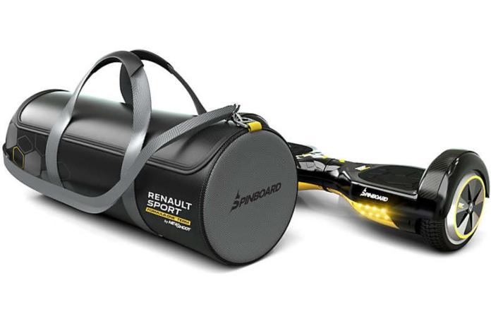 hoverboard renault sport spinboard sac. Black Bedroom Furniture Sets. Home Design Ideas