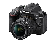 Appareil photo reflex NIKON D3400 AF P 18-55 VR + objectif A